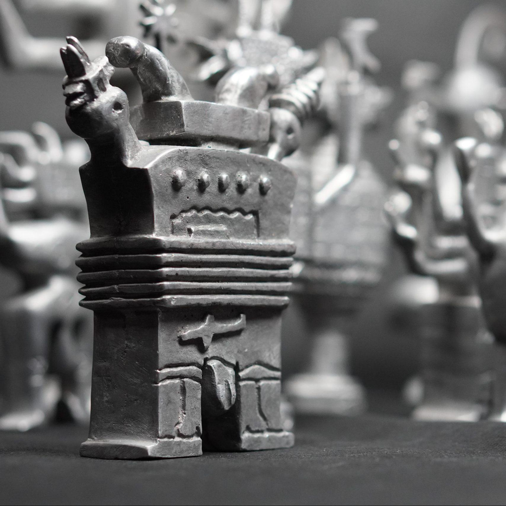 Rzeźby i odlewy