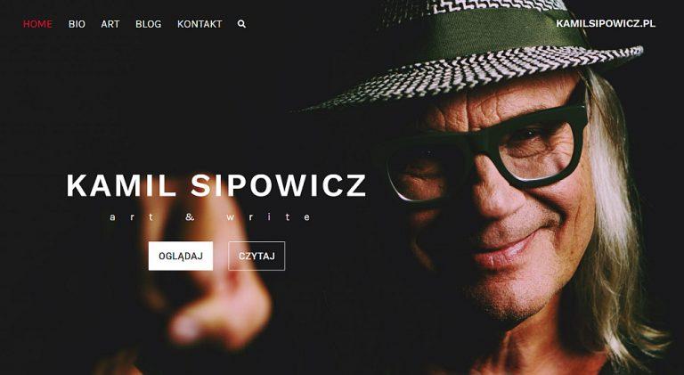 Kamil Sipowicz strona internetowa